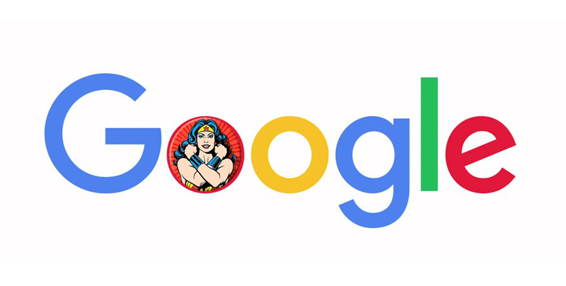 Google is a powerful woman
