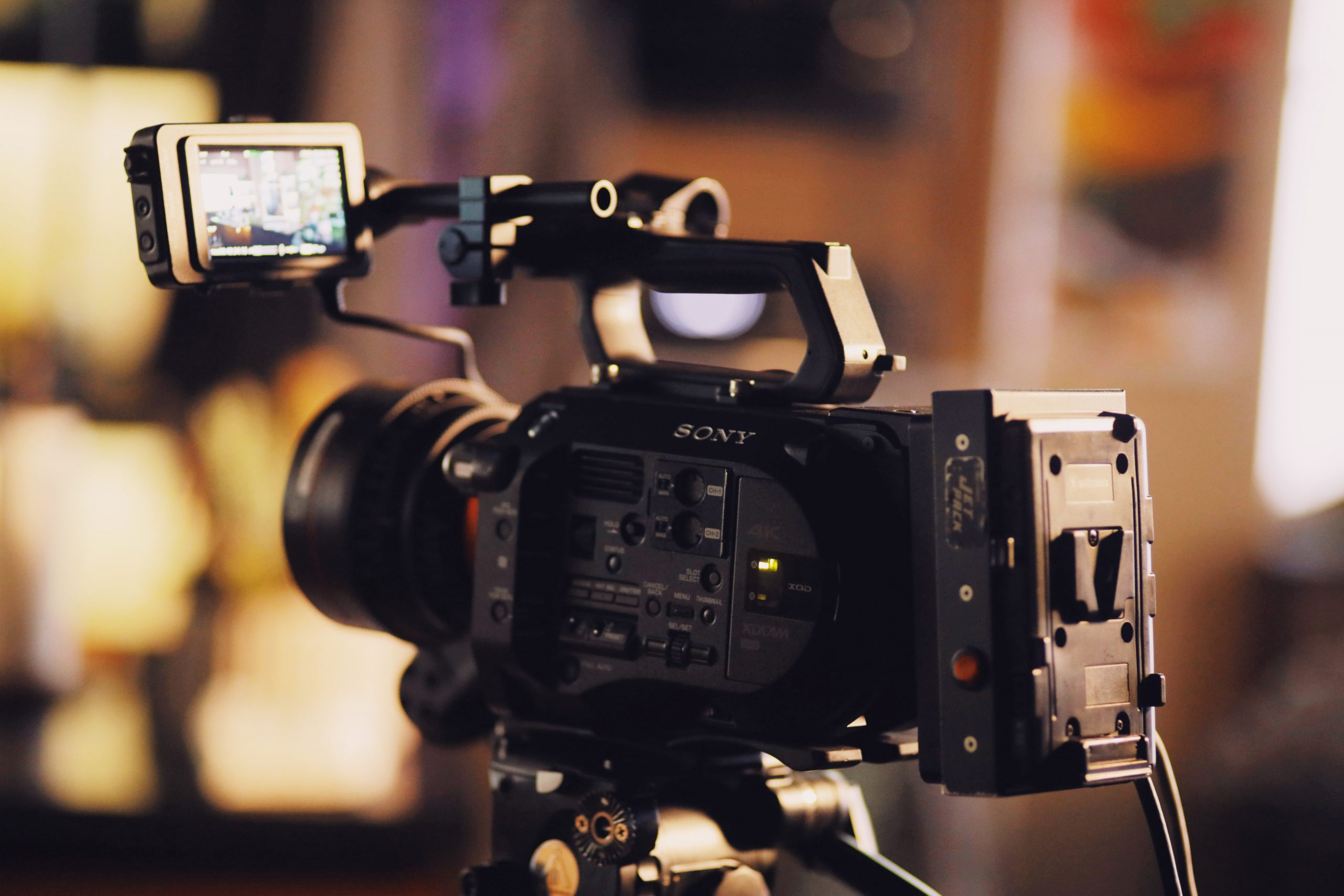Ideal camera for promotional video