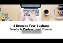 Five Reasons Your Office Needs A Professional Cleaner